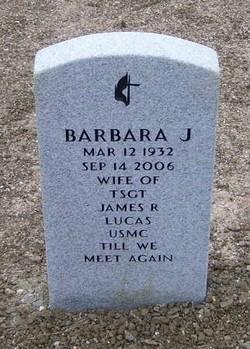 Barbara J <i>Madden</i> Lucas