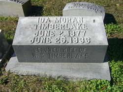 Ida Morehead Teatot <i>Moran</i> Timberlake
