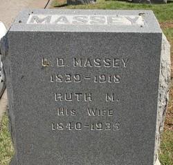 Ruth Melissa <i>Satterfield</i> Massey