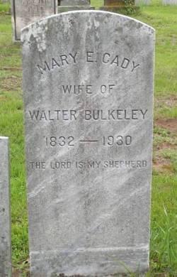 Mary E. <i>Cady</i> Bulkeley