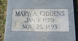 Mary A. Giddens