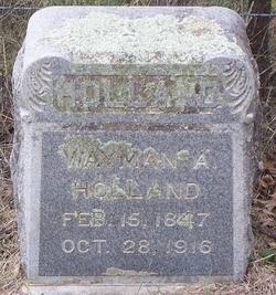 Wayman A. Holland