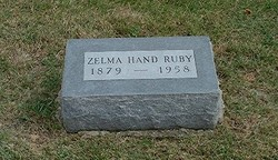 Zelma Mae <i>Pearce</i> Hand