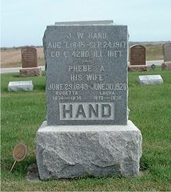 Phebe Ann <i>Condreay</i> Hand