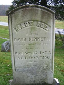 Mary <i>Coe</i> Bennett
