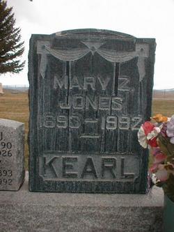Mary Zenora <i>Jones</i> Kearl