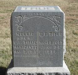 Ellen Nellie <i>Clossey</i> True