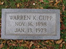 Warren K Cupp