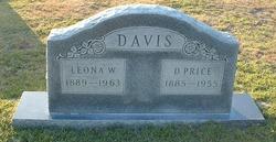 Leona W Davis