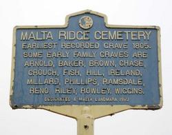 Malta Ridge Cemetery