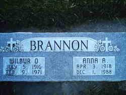 Anna Alice <i>Martin</i> Brannon