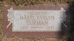 Mabel Evelyn Turman
