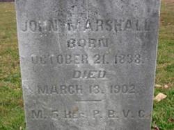 John Wesley Marshall, Sr