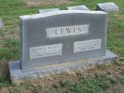 Agnes <i>Thomas</i> Lewis