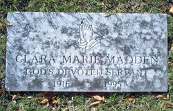 Clara Marie Madden