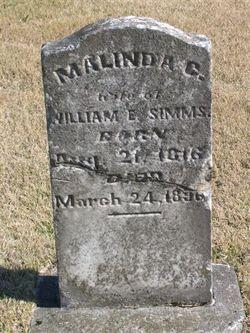 Malinda Catherine <i>Templin</i> Simms