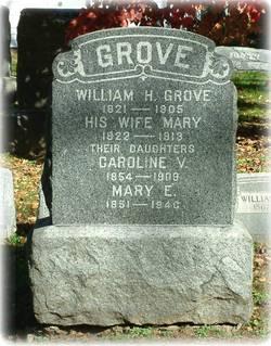 Caroline V Grove