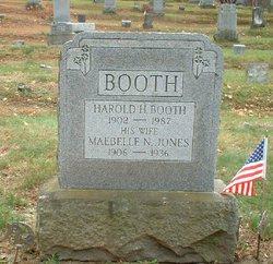 Maebelle N <i>Jones</i> Booth