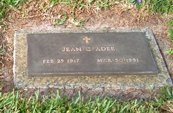 Jean C Adee