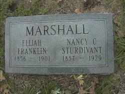 Nancy C <i>Sturdivant</i> Marshall
