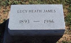 Lucy <i>Heath</i> James
