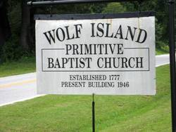 Wolf Island Primitive Baptist Church Cemetery
