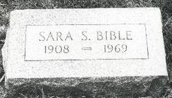 Sara S. Sally Bible