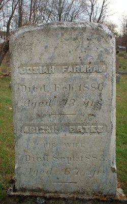 Abigail <i>Gates</i> Farnham