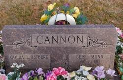 Bert Munn Cannon