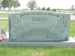 Alma Elizabeth <i>Horton</i> Simon