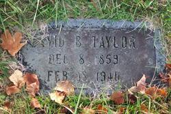 David Benjamin Taylor