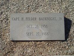 Capt H. Felder Bauknight, Jr
