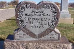 Sharon Kaye <i>Millspaugh</i> Adams