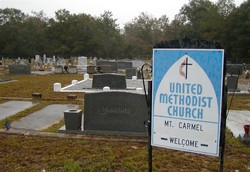 Mount Carmel Methodist Church Cemetery