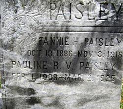 Fannie Hiteshew Shuffler <i>Schuffler</i> Paisley