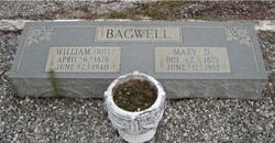 Mary D <i>Benefield</i> Bagwell