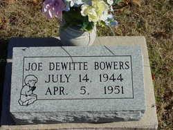 Joe Dewitte Bowers