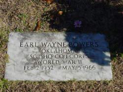 Earl Wayne Bowers