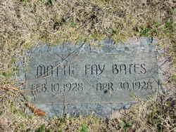 Mattie Fay Bates