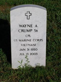 Wayne A Crump, Sr