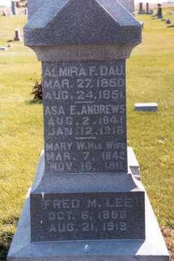 Mary W. <i>Waller</i> Andrews