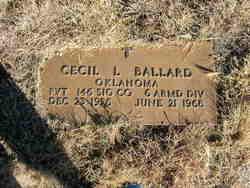 Cecil L. Ballard