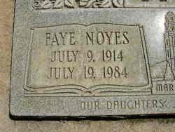 Faye <i>Noyes</i> Stoker