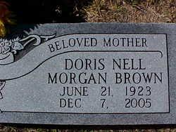Doris Nell <i>Morgan</i> Brown
