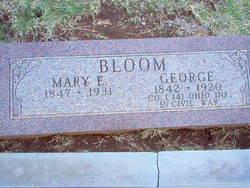 Mary E <i>Mahaffey</i> Bloom