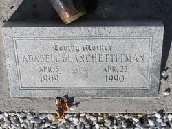Adabell Blanche Pittman