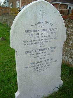 Frederick John Feaver