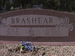 Clara Belle <i>Young</i> Brashear