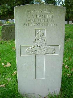 Frederick Ian Haslett