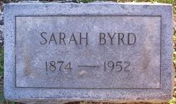 Sarah <i>Byrd</i> Bell